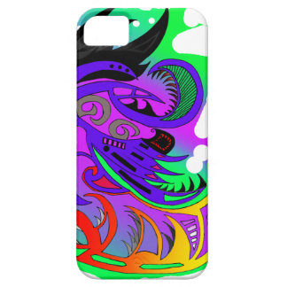 Tribal drawing flashy iPhone 5 cases