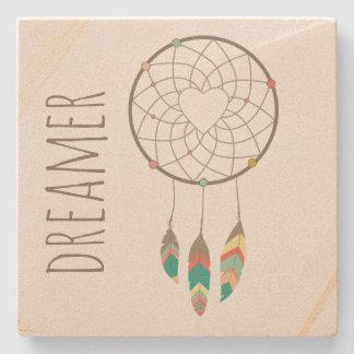 Tribal Dream Catcher Stone Coaster