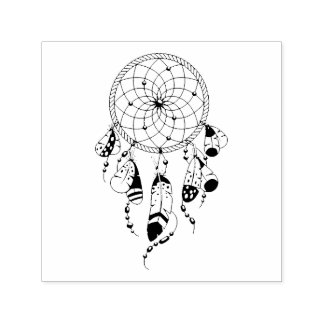 Tribal Dreamcatcher Self-inking Stamp
