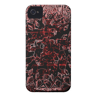 Tribal Effect Red Case-Mate iPhone 4 Case
