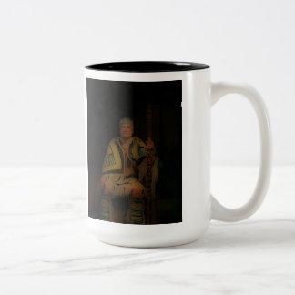 'Tribal Elder' Two-Tone Coffee Mug