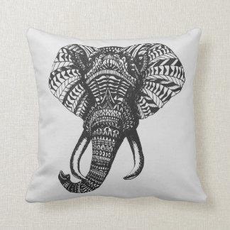 Tribal Elephant Pillow