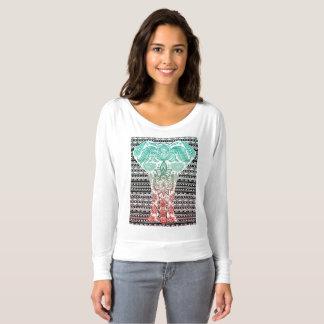 Tribal Elephant Print T-Shirt