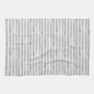 tribal feather tea towel