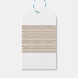 Tribal Feather Zig Zag Pattern Design Gift Tags