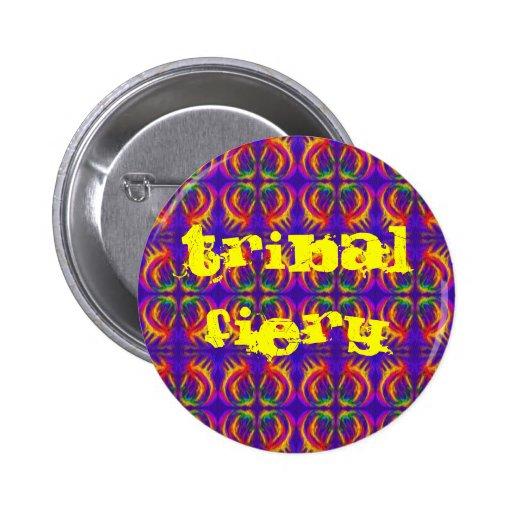 Tribal Fiery Button