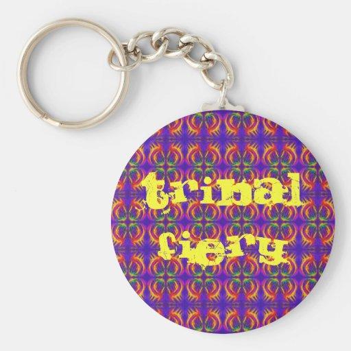 Tribal Fiery Keychains