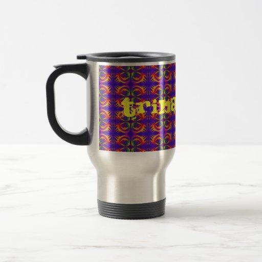 Tribal Fiery Coffee Mug