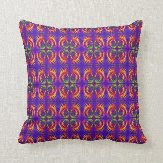 Tribal Fiery Throw Cushion