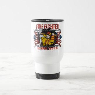 Tribal Firefighter Travel Mug