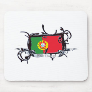Tribal Flag Portugal Mousepad