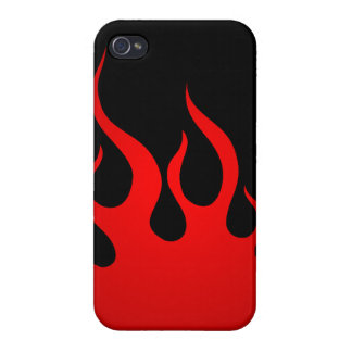 Tribal Flames iPhone 4 Cases