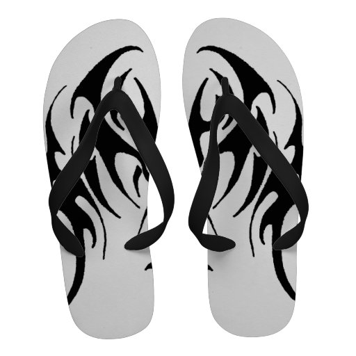 Tribal Flip-Flops