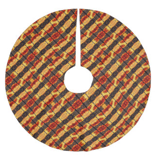Tribal Fusion Brushed Polyester Tree Skirt