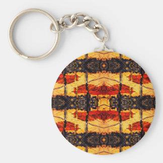Tribal Fusion Key Ring