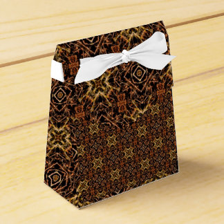 Tribal Geometric Print Favour Box