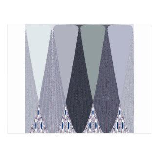 Tribal Geometry pattern Postcard