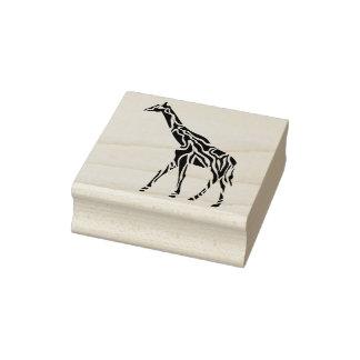 tribal giraffe art stamp