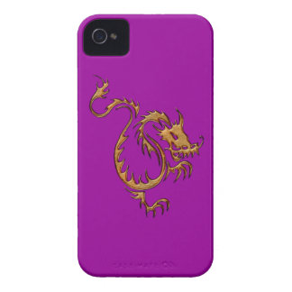 Tribal Gold Dragon Fantasy Art iPhone Case iPhone 4 Case-Mate Cases