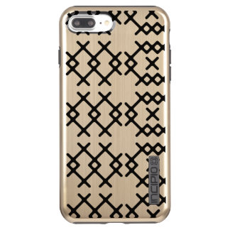 Tribal Gold Nomad Geometric Shapes Incipio DualPro Shine iPhone 8 Plus/7 Plus Case