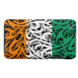 Tribal Graffiti Flag of Ivory Coast iPod Touch Covers