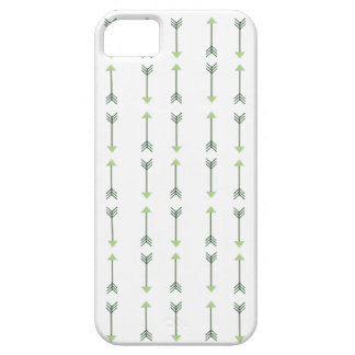 Tribal green Arrow Pattern iPhone 5 Cover