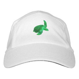 Tribal Green Sea Turtle Hat