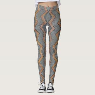 Tribal Grey Leggings