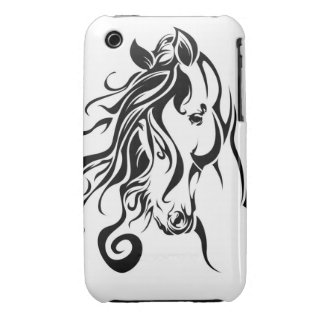 Tribal Horse iPhone 3 Cover