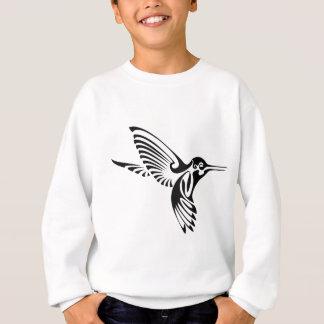 Tribal Hummingbird Silhouette Sweatshirt