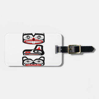 Tribal Identity Luggage Tag