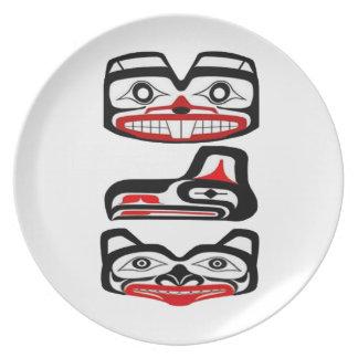 Tribal Identity Plate