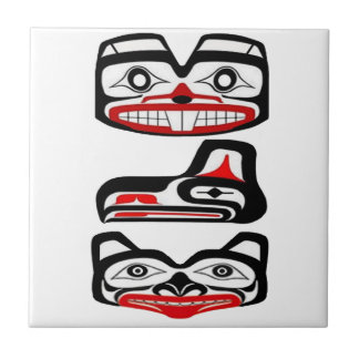 Tribal Identity Small Square Tile