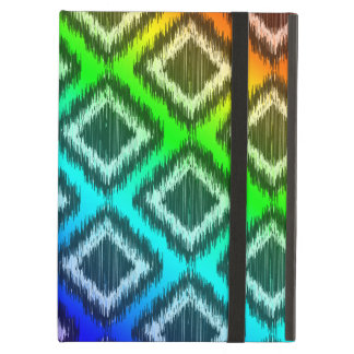 Tribal Ikat Rainbow Colorful Pattern Case For iPad Air