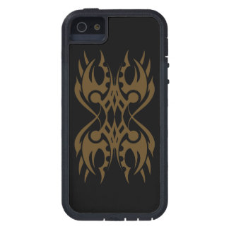 Tribal iphone 18 gold to over black case for the iPhone 5
