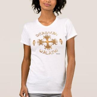 Tribal Iron Cross Ladies Petite T-Shirt