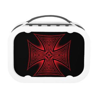 Tribal Iron Cross Lunchbox