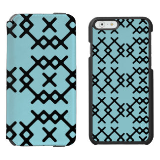 Tribal Island Paradise Blue Nomad Geometric Shapes
