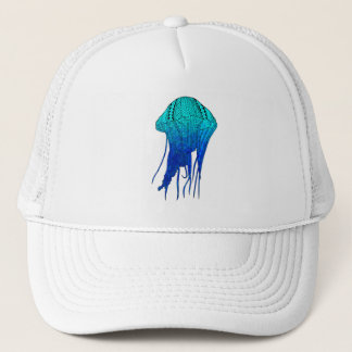 Tribal Jellyfish Trucker Hat