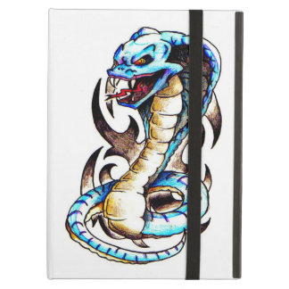 Tribal King Cobra Tattoo Cover For iPad Air