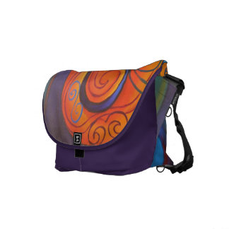 Tribal Koru Messenger Bag