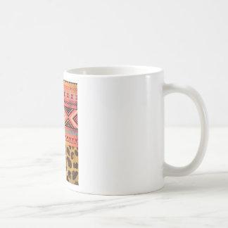 Tribal Leopard Coffee Mug