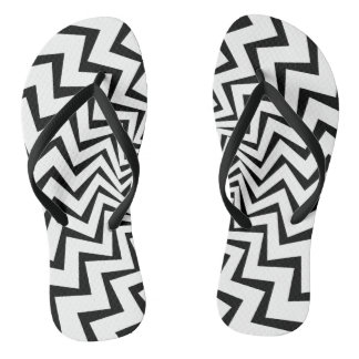 Tribal Lightning Bolt Thongs