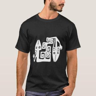 Tribal Lizard Art T-Shirt