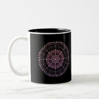 Tribal Mandala Two-Tone Coffee Mug