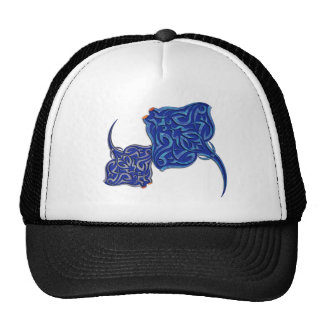Tribal Manta Rays Hat