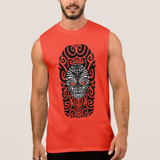 Tribal Maori Tanktop Sleeveless Shirt