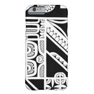 Tribal Marquesas Island tattoo design Barely There iPhone 6 Case