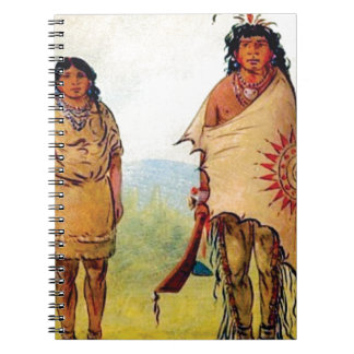 tribal marriage spiral notebook