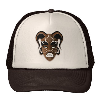 TRIBAL MASK Trucker Hat